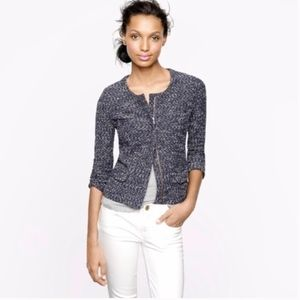 J. Crew Micro Tweed Jacket
